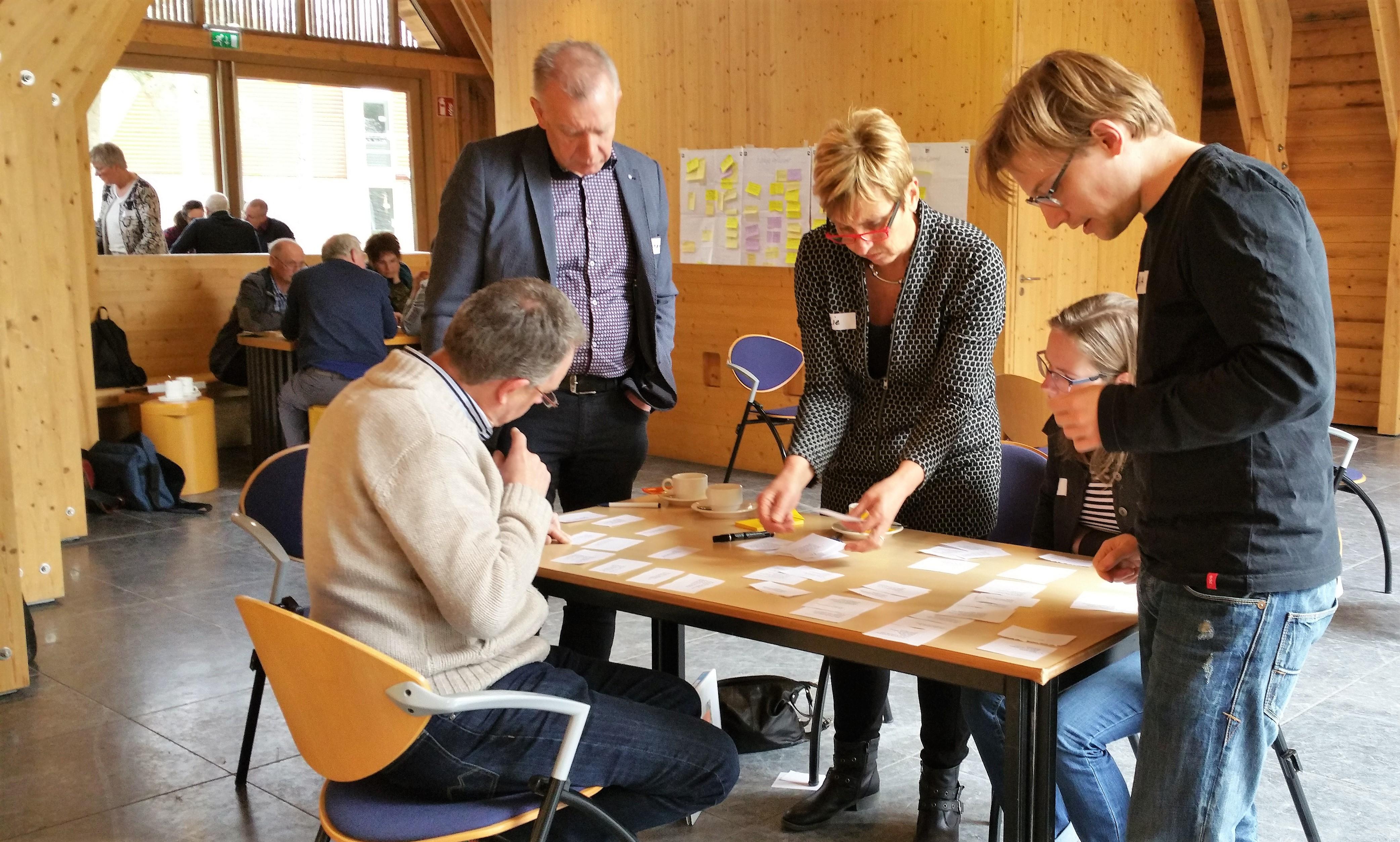 leergemeenschap waarderende gemeenteopbouw